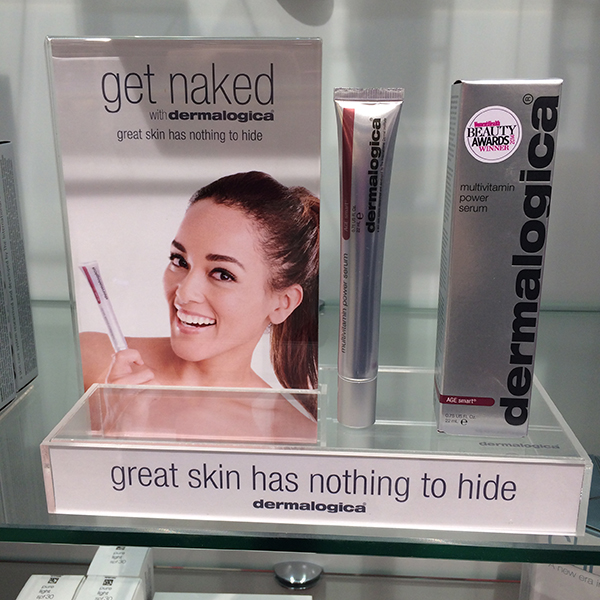 Dermalogica's #getnaked campaign